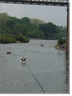 RIVER ZIP LINE TEST